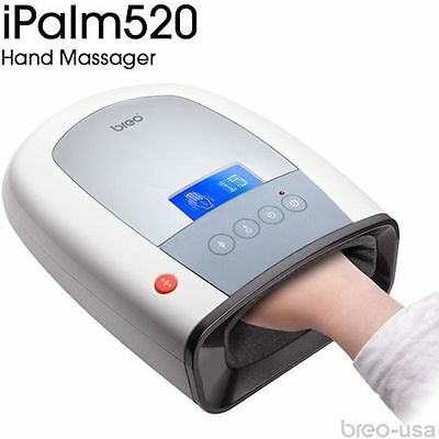 Breo iPalm520 Hand Massager Air Pressure Infrared Heat Compression NEW AUTHENTIC
