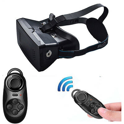 New Super Cool 3D-Videobrille Universal Virtual Reality + Bluetooth Spiel-Steuer