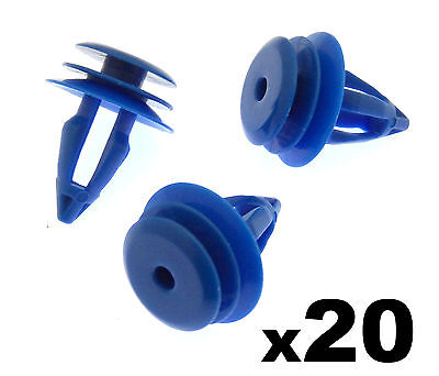 20x Land Rover Range Rover Evoque Plastic Clips for Front & Rear Wheel Arch Trim