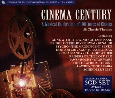 Cinema Century: A Musical Celebration of 100 Years of Cinema -  CD 3PVG The Fast