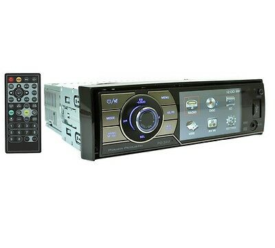 "Power Acoustik Pd-344 +2Yr Waranty Dvd Car Stereo Detachable Face 3.4"" Player"