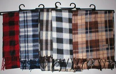 Wholesale Lot 24 Mens Scarves Plaid Scarf Charity Give A Way Winter Warm New
