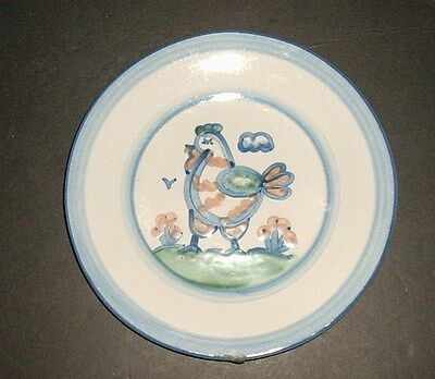 M A Hadley Country Scene Lucheon Plates
