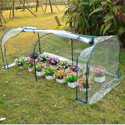7'x3'x3' Portable Mini Greenhouse Gardening Flower Tunnel House Plants Yard Hot