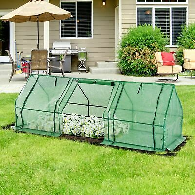 Outdoor New Mini 9'x3'x3' Portable Greenhouse Gardening Flower Plant Hot House