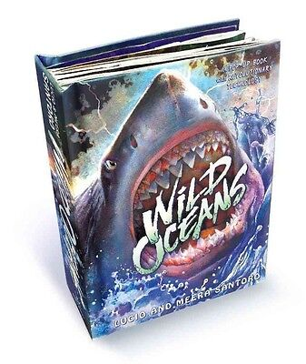 Wild Oceans: A Pop-Up Book with Revolutionary Technology by Lucio Santoro Hardco