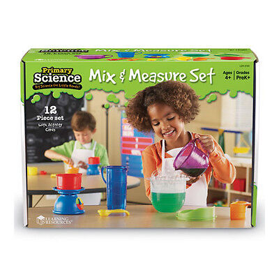 Learning Resources Primary Science Mix & Measure 12 piece science set NEW