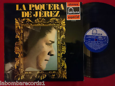 LA PAQUERA DE JEREZ Same Title LP 1971 SPAIN flamenco   N