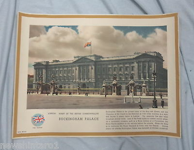 Set Of Six   London  Prints, About 1945, Heart Of The Commonwealth