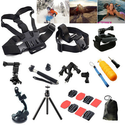 Head Chest Mount Floating Handlebar Mo Accessories For Go Pro Hero 2 3 4 Session