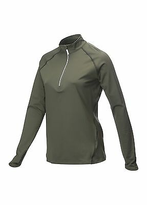 1/4 Zip Callaway Stretch Warm Base Layer Skin Gunmetal Charcoal Grey S,M,L,XL BN