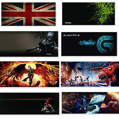 new Large Mouse Mat Pad for PC laptop Computer Comfort Antislip 900×400×3MM