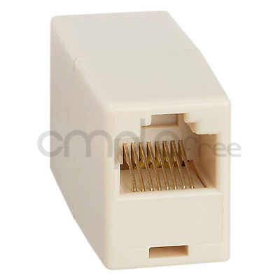 Cat5e RJ45 Inline Ethernet Network Patch Cable Coupler, 8P8C Straight