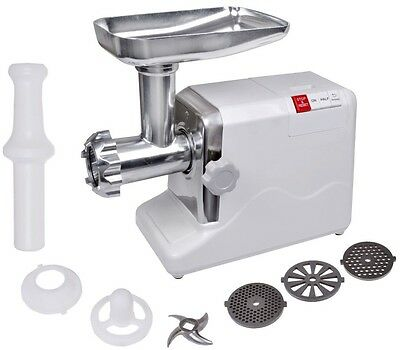 2000W 2.6 HP Industrial Shop Electric Meat Grinder Meats Grind 3 Speed w/3 Blade