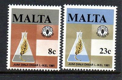 Malta Mnh 1981 Sg665-666 World Food Day Set Of 2