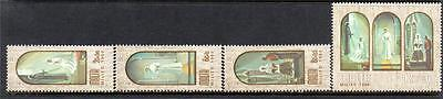 Malta Mnh 1980 Sg648-651 Christmas Set Of 4