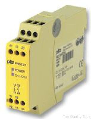 Pilz, Pnoz X7 24Vac/dc, Relay, Safety, 24Vac/dc