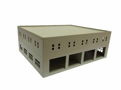 Outland Models Train Railway Garage / Logistics Centre Unpainted HO OO Gauge