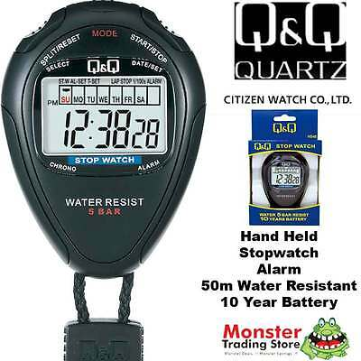 Australian Seller Citizen Made Pro Hand Held Stop Watch Hs46J001 Rp$79.95 Warnty