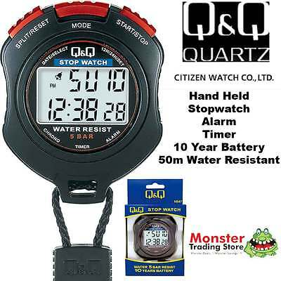Australian Seler Citizen Made Pro Hand Held Stop Watch Hs47J003 Rp$119.9 Waranty