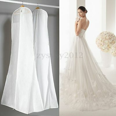 Wedding Large Clothes Garment Dress Showerproof Dustproof Cover Storage Bag