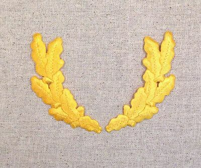 Scrambled Eggs - YELLOW - Military Uniform - Iron on Applique/Embroidered Patch