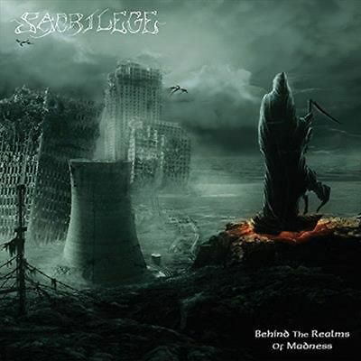 Behind the Realms of Madness - Sacrilege CD-JEWEL CASE