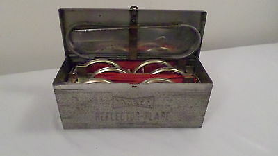 Vintage Yankee No 1123 Road Emergency Auto Safety Reflector Kit in Metal Case
