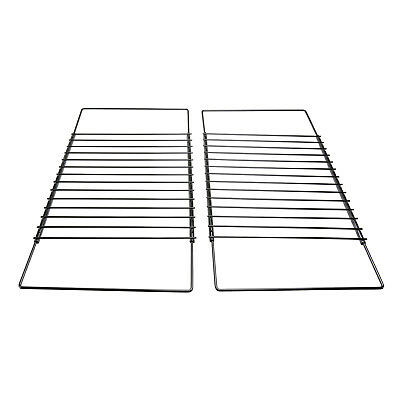2x Extendable Grill Oven Shelf Rack Screw Fix Arm Adjustable For Indesit Cooker