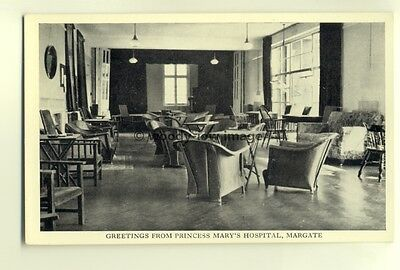 tp6909 - Kent - The Lounge of Princess Mary's Hospital, in Margate - Postcard