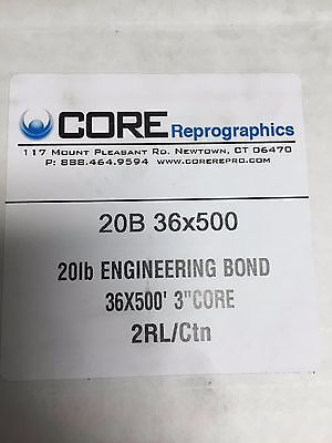 20lb Xerographic Bond 36X500