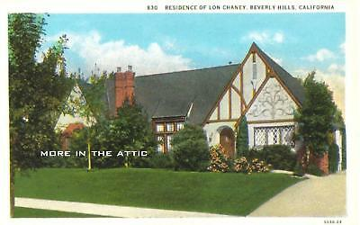 Welcome To The Home Of Universal Horror Star Lon Chaney
