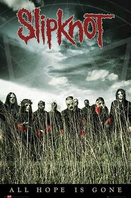 SLIPKNOT ~ IOWA FIELD GROUP 24x36 MUSIC POSTER All Hope Is Gone NEW/ROLLED!