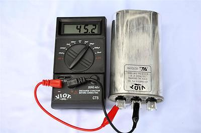 Digital Capacitor Tester Wide Range: pF- 20mF High Accuracy HVAC Electrian Tool