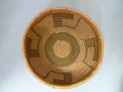 "Native American Weave Small Basket Bowl. Very Nice Design. Approx. 3"" T x 6.5"" D"
