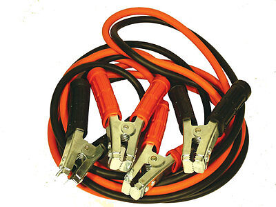 Trade Quality 600 amp 3.6 Meter Extra Long Jump Leads Free Post
