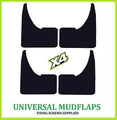 UNIVERSAL FORD Car Rubber MUDFLAPS Mud Flaps SET 4