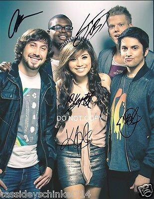 PENTATONIX A CAPPELLA band Reprint Signed 8x10
