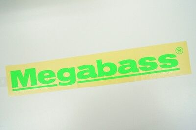 Megabass CUTTING STICKER 40cm #GREEN
