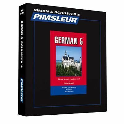 Pimsleur German Level 5 CD: Learn to Speak and Understand German with Pimsleur L