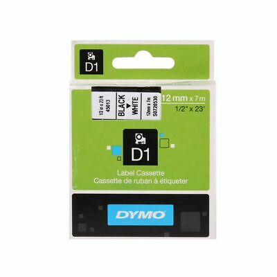Dymo D1 1000 Tape 12mm Black on White
