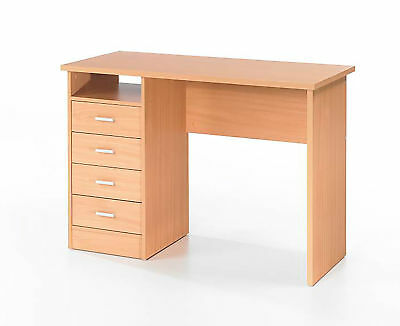 Wessex Home Office  Desk with 4 Drawers