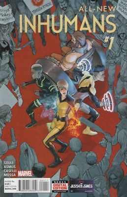 All New Inhumans #1 2015 (Marvel Comics)