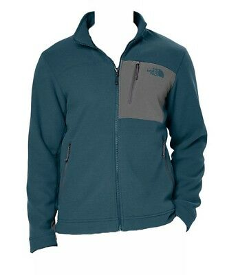 Mens NEW The North Face Chimborazo Full Zip Fleece Jacket Monterey Blue M & XL