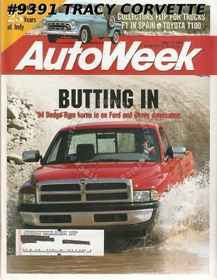 May 17, 1993 Autoweek 1961 Corvair 95 Rampside Toyota T100 Roger Penske 25 Years