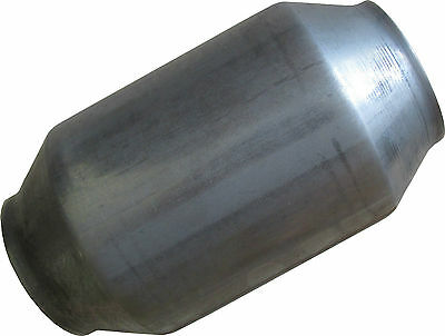 "Catalytic Converter 2.5"" 200 cell Stainless Steel, HIGH FLOW HIGH PERFORMANCE"