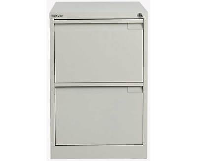 Bisley Filing Cabinet BS2E 2 drawer H711xW470xD622mm Steel