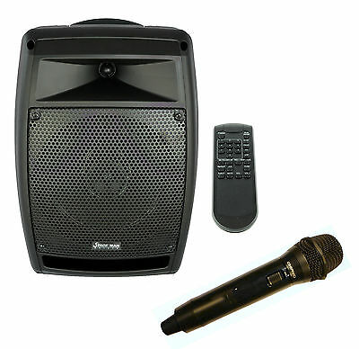Chiayo StageMan 150W portable PA with 1x wireless microphone, Cd player /USB