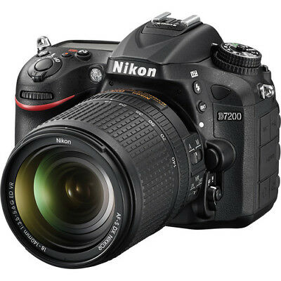 Nikon D7200 DSLR Camera with 18-140mm VR Lens 1555