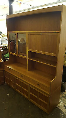 Nathan By Parker Knoll Teak Display Cabinet Dresser Collection Only